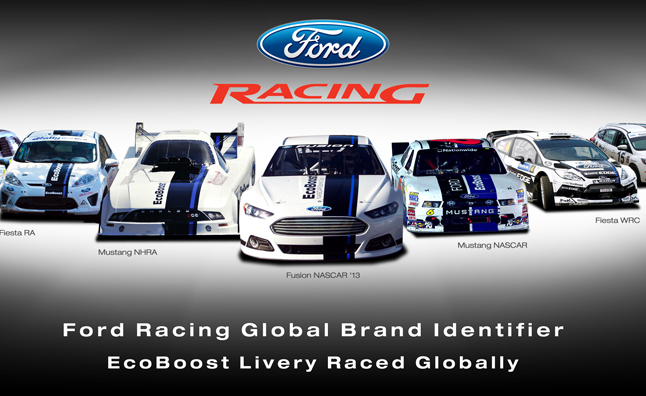 First On Race Day Ford S Latest Go Fast Livery