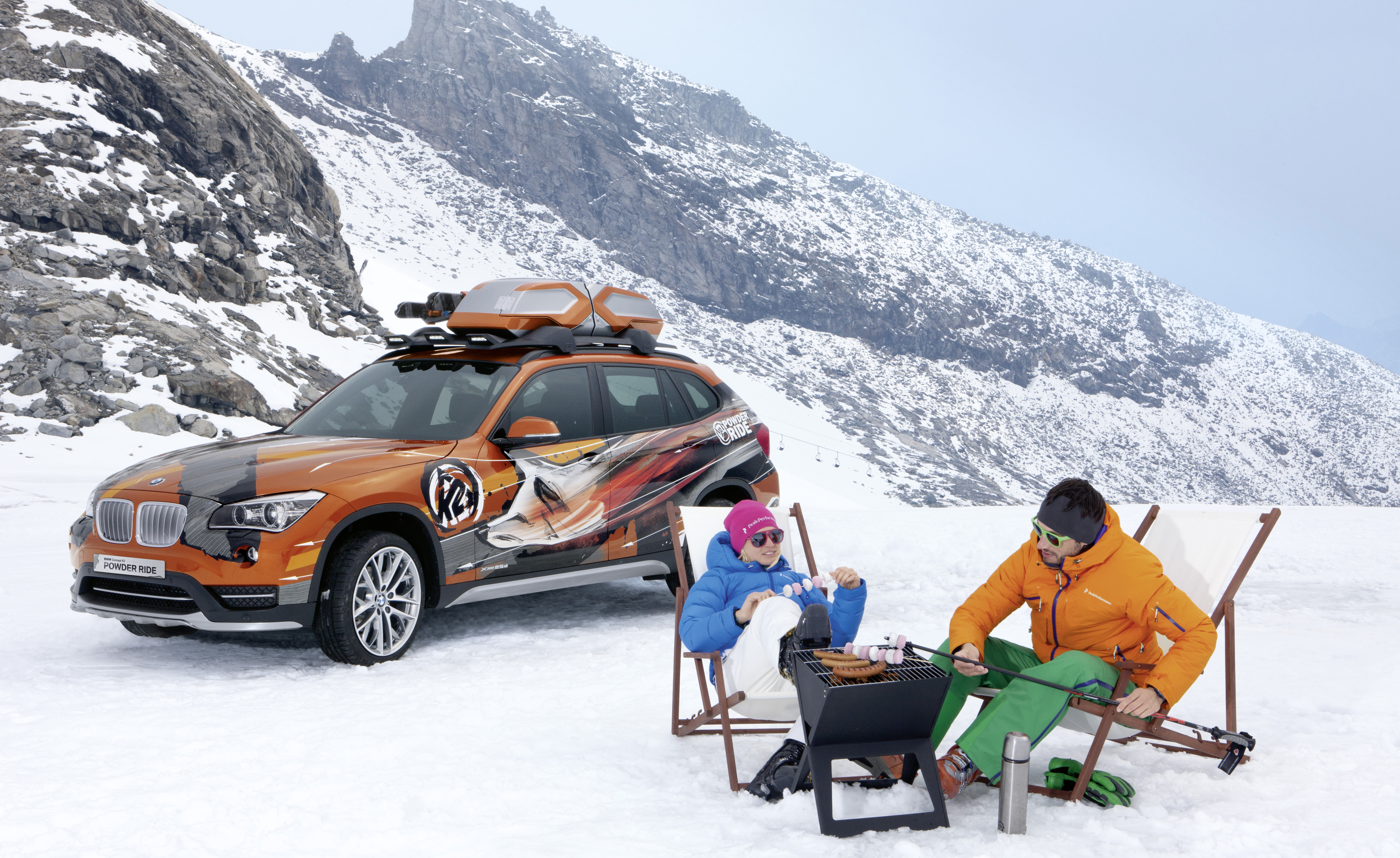 Ski Rack For Car >> BMW X1 'Powder Ride' Kicks off US Vehicle Sales ...