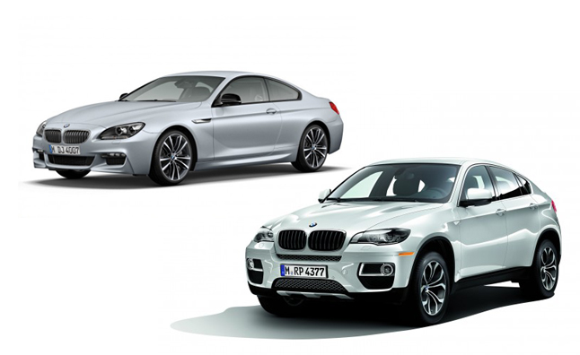 bmw offers limited run of special x6 6 series to us