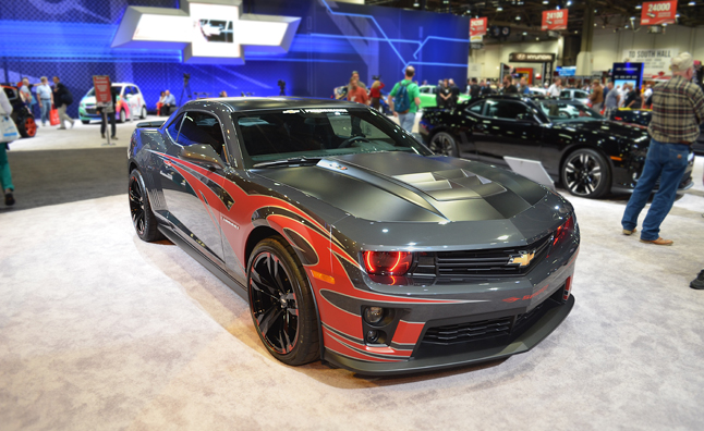 Tony Stewart Zl1 Camaro Gets Bad Tribal Tat 2012 Sema