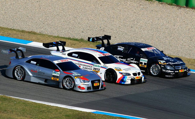 as what ALMS and Grand-Am are doing, but DTM and Japan's Super