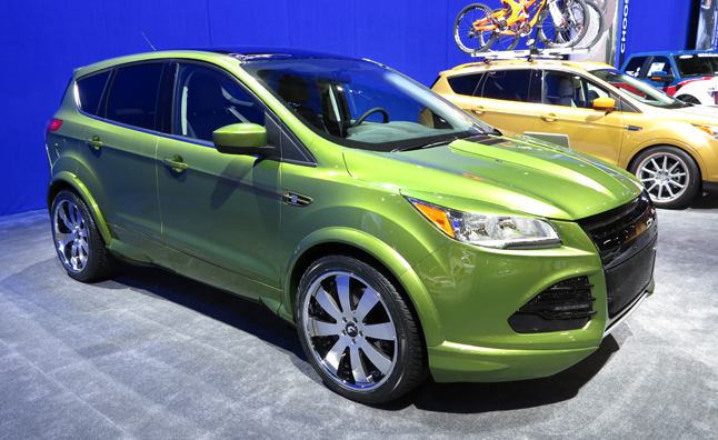 Custom Ford Escapes Mix Fun and Function: 2012 SEMA Show ...
