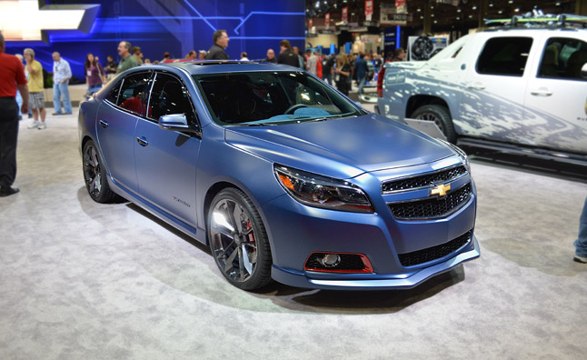 chevy malibu turbo performance concept feigns speed. Black Bedroom Furniture Sets. Home Design Ideas