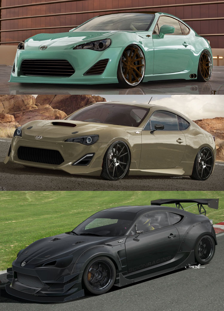 Scion Fr S Tuner Challenge Previewed 2012 Sema Show Poll