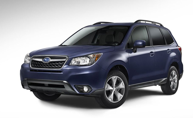 2014 Subaru Forester Showcased in New Videos