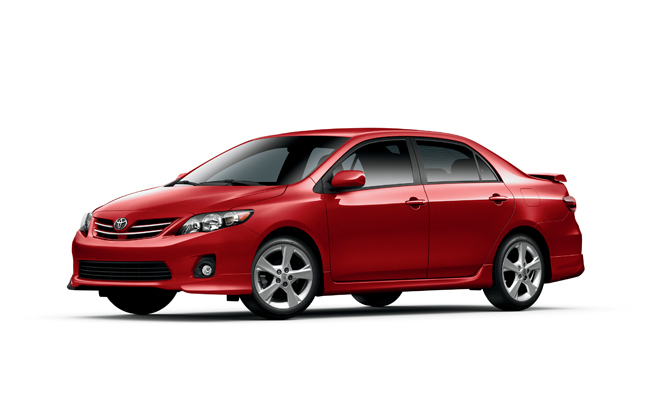 2013 Toyota Corolla Gets New Premium Package Options