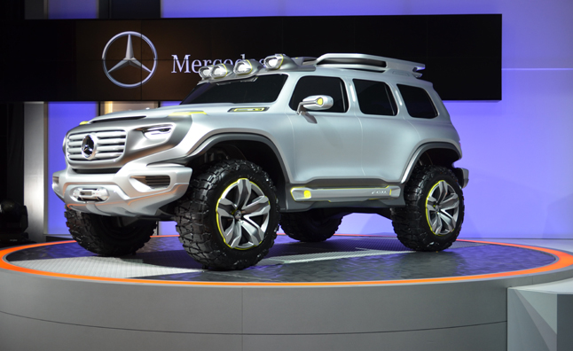 Mercedes Ener G Force Concept Previews Future G Wagon La