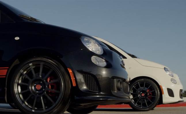 fiat 500 abarth cabriolet teased in video 2012 la auto show preview news. Black Bedroom Furniture Sets. Home Design Ideas