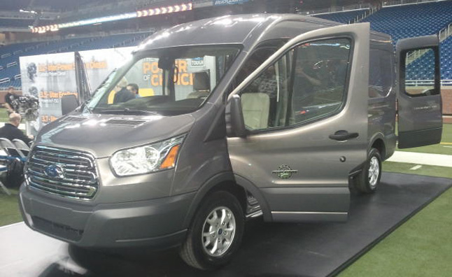 Ford just revealed the all new 2014 Transit, a full-size cargo van