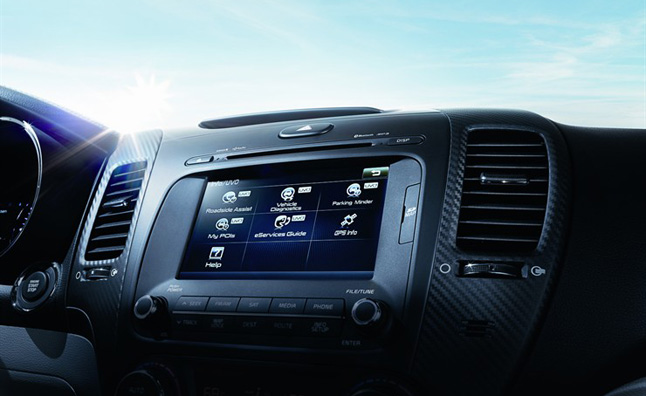 kia launches new uvo eservices infotainment system news. Black Bedroom Furniture Sets. Home Design Ideas