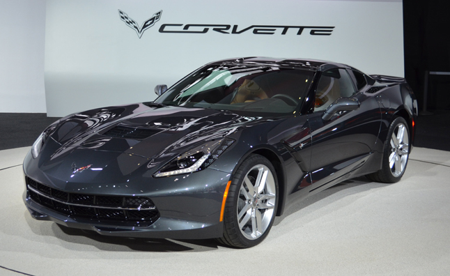 2014 corvette stingray still hot on detroit show floor  u00bb autoguide com news