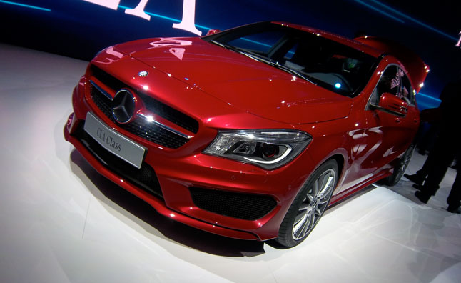 Mercedes-Benz revealed a brand-new compact car on the eve of the North