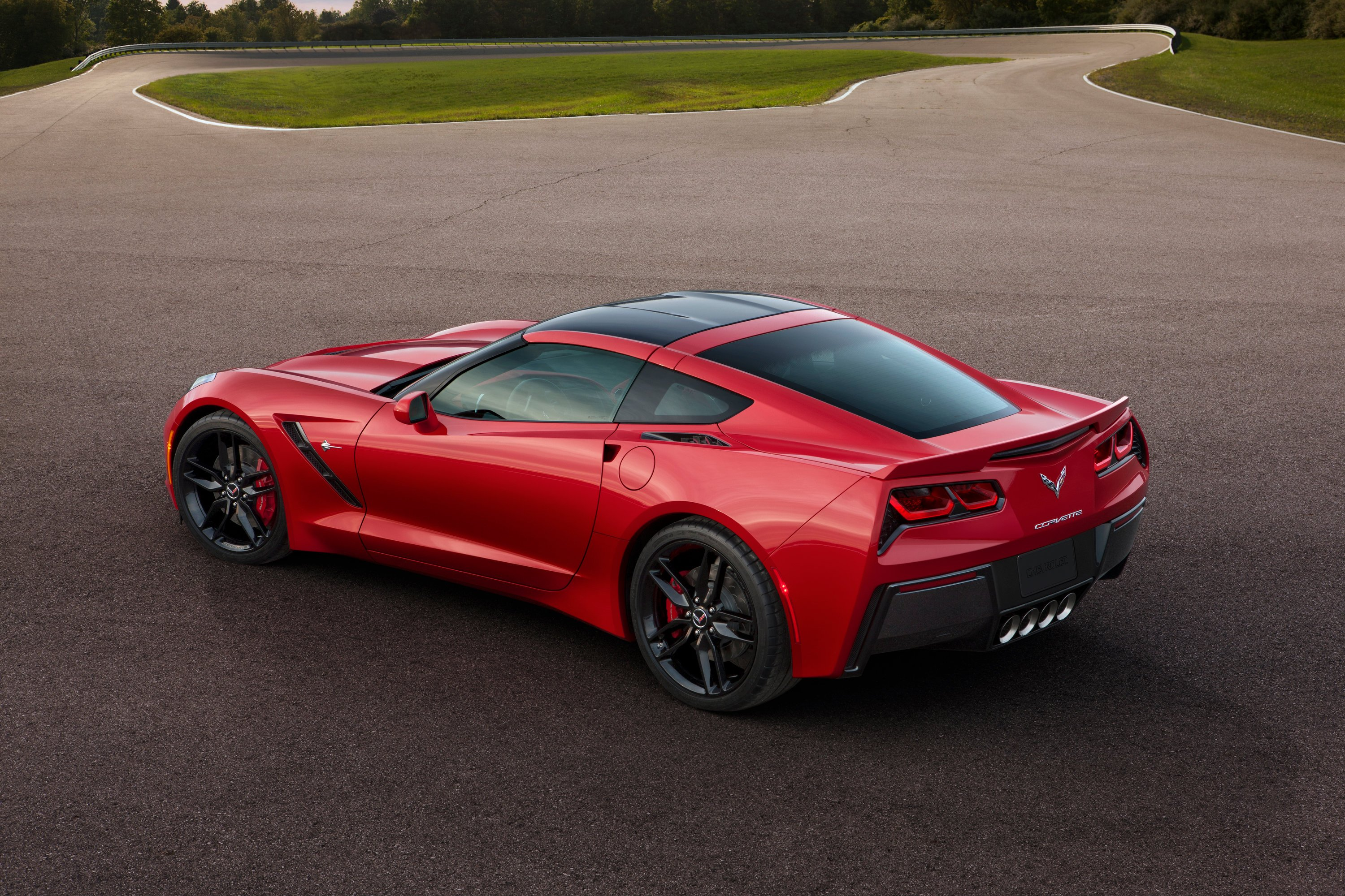 for the new corvette