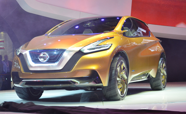 Nissan Resonance Concept on Nissan Murano Parts