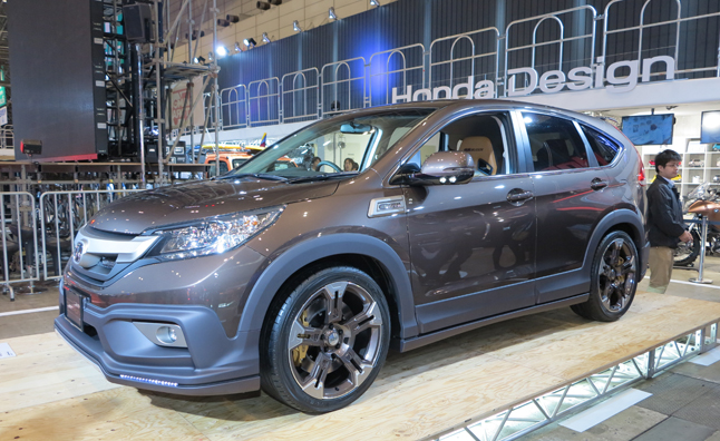 mugen honda cr v combines off road style with on road. Black Bedroom Furniture Sets. Home Design Ideas