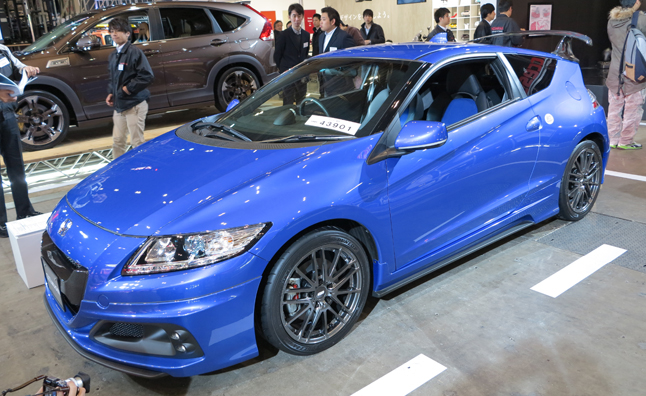honda cr z mugen rz is a supercharged hybrid 2013 tokyo auto salon news. Black Bedroom Furniture Sets. Home Design Ideas