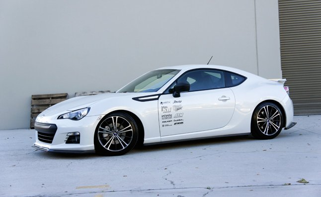 Project Subaru Brz Gets A Facelift And New Suspension