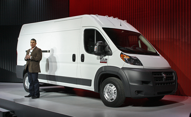 2014 Ram ProMaster Debuts in Chicago with Diesel Power, European Looks