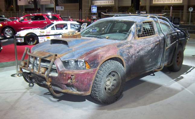 Quot Defiance Quot Dodge Charger Is A Post Apocalyptic Crime