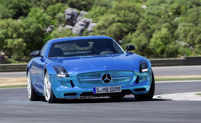 Mercedes sls amg electric drive is world 39 s fastest most for What is the fastest mercedes benz car
