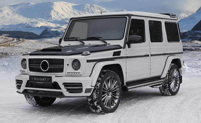Mansory mercedes benz g class is surprisingly tame for Mercedes benz that looks like a jeep