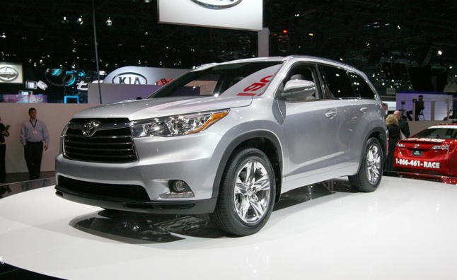 Toyota rolled out a new Highlander at the 2013 New York Auto Show on