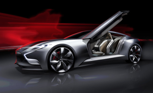 With the dramatic HND-9 concept car Hyundai is previewing the design