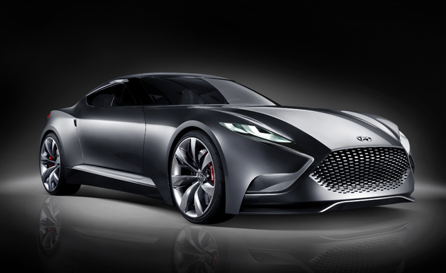 coupe concept that gives us a preview of the 2015 Genesis Coupe