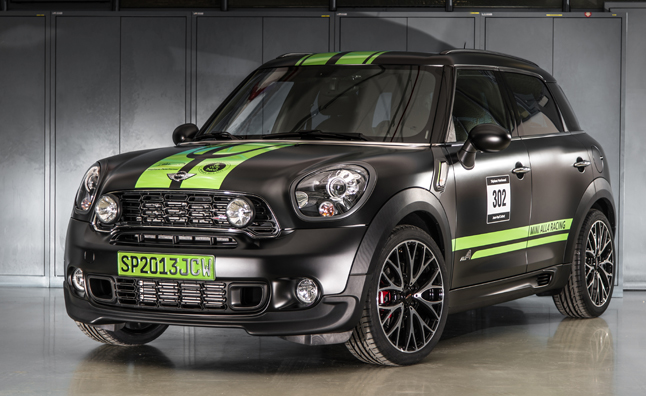 MINI Celebrates Dakar Win With Race-Inspired JCW Countryman