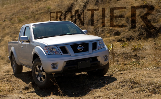 2013 Nissan Frontier Gets Lower Price Higher Mpg