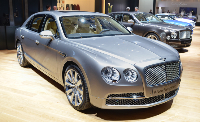 2014 bentley continental flying spur more powerful still classy autoguide. Black Bedroom Furniture Sets. Home Design Ideas