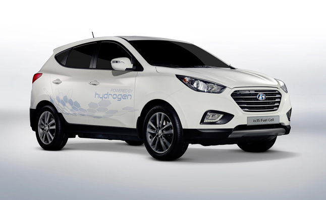 Hyundai Tucson Hydrogen Fuel Cell On Sale in 2015 Confirms
