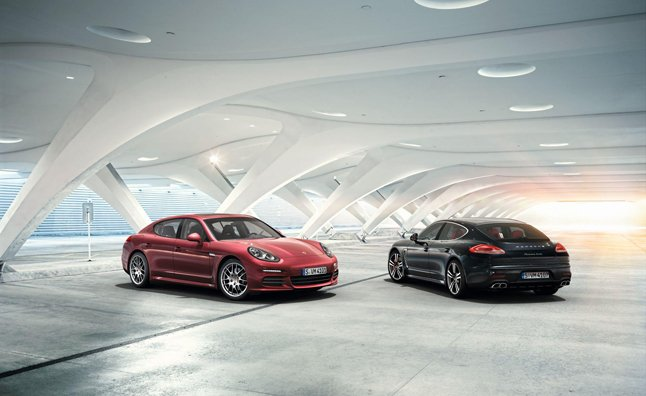 porsche has released a series of stunningly beautiful photos of its updated 2014 model year panamera - Porsche Panamera 2014