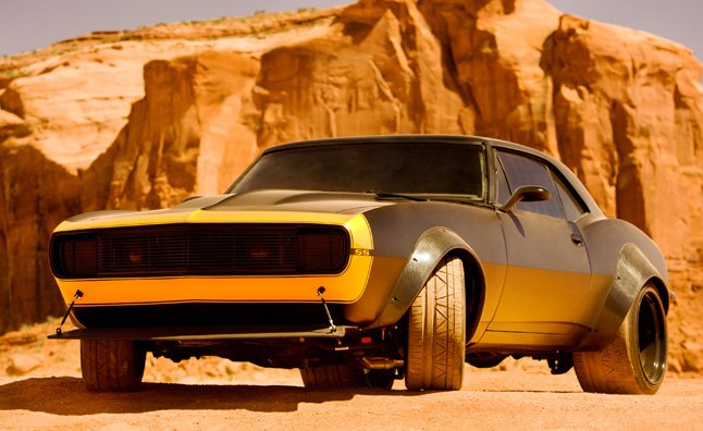 1967 Chevy Camaro SS to Play Bumblebee in Transformers 4 ...