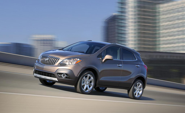 buick encore scores high in safety fails small overlap. Black Bedroom Furniture Sets. Home Design Ideas