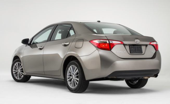 2014 toyota corolla revealed with surprising new look news. Black Bedroom Furniture Sets. Home Design Ideas