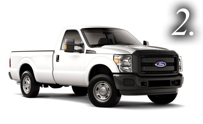 top 10 blue collar trucks ford f 250. Cars Review. Best American Auto & Cars Review