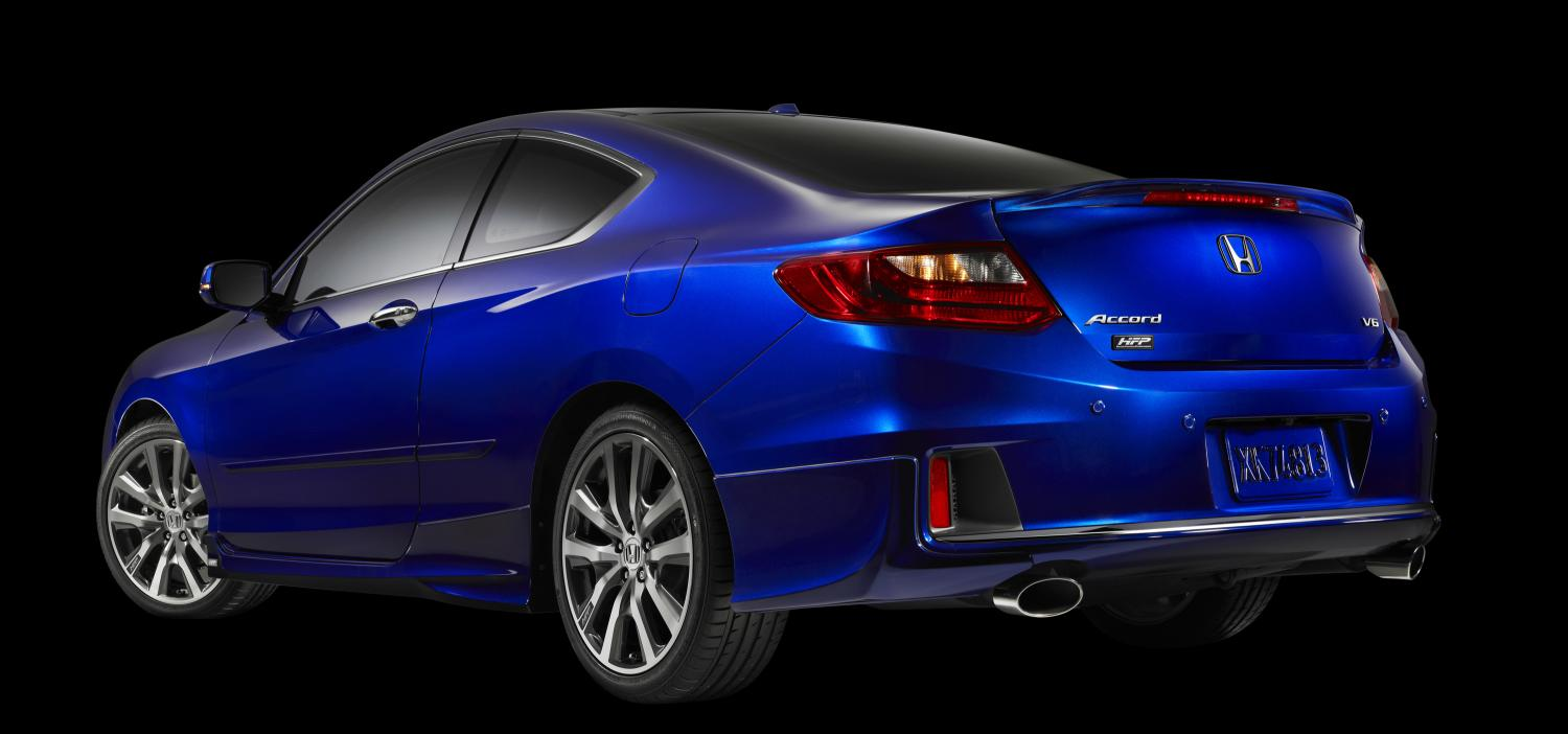 accord honda coupe hfp v6 rear package edition limited factory performance sema ex accords civic hp kbb bisimoto introduced prnewswire