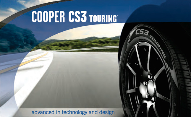 cooper cs3 touring tires announced news. Black Bedroom Furniture Sets. Home Design Ideas
