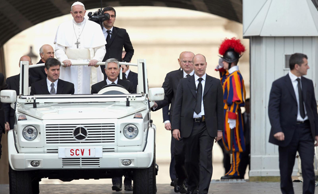 Bullet Proof Cars >> Priests Should Drive 'Humble' Cars: Pope » AutoGuide.com News