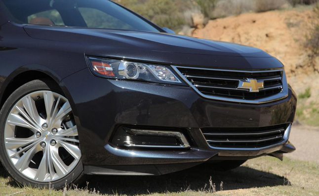 Chevy Impala Named Most Improved New Car By Consumer