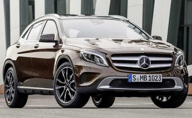 2015 mercedes gla 250 a semi serious soft roader news. Black Bedroom Furniture Sets. Home Design Ideas