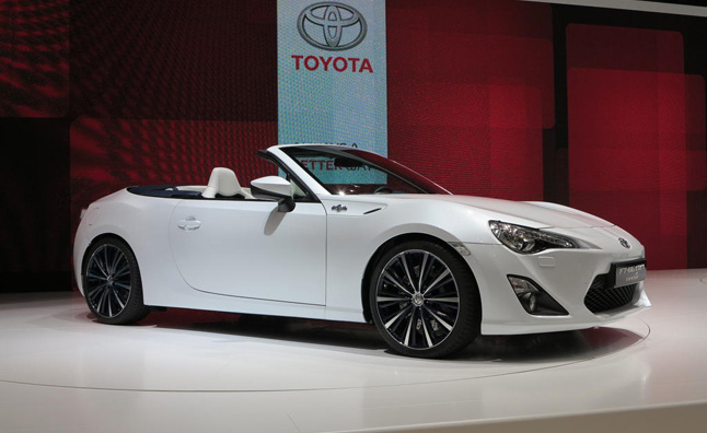 Scion Fr S Convertible Crossover On Their Way Mercedes