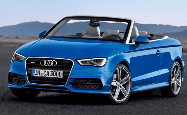 Audi A3 Cabriolet Leaks Its Way Onto The Internetz