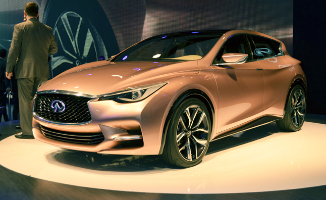 Infiniti Q30 Concept Previews A New Type Of Luxury Car For A New Generation Of Buyer 187 Autoguide