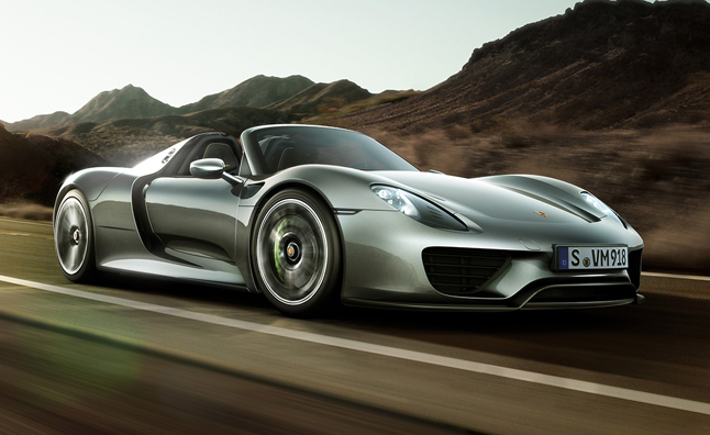918 spyder production model among porsche premieres at frankfurt motor show. Black Bedroom Furniture Sets. Home Design Ideas