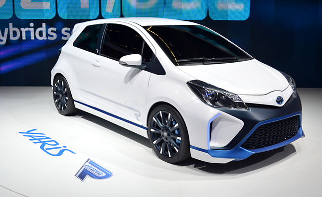 Toyota Yaris Hybrid R Concept Armed With 420 Ponies