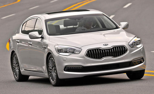 Kia 'K900′ Tipped as Name of US-bound RWD Luxury Sedan Kia K900