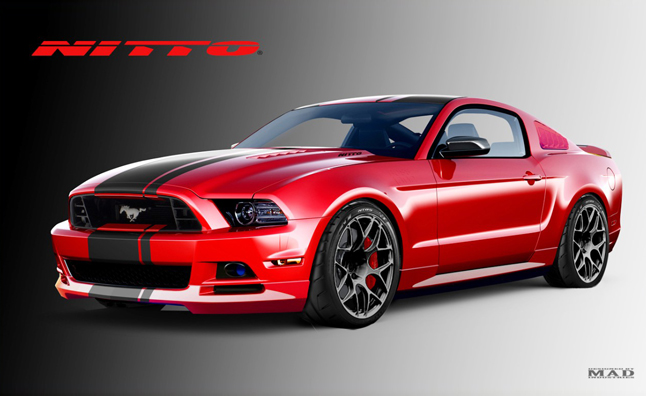 Ford S 2013 Sema Cars Mustang Muscle Pint Sized
