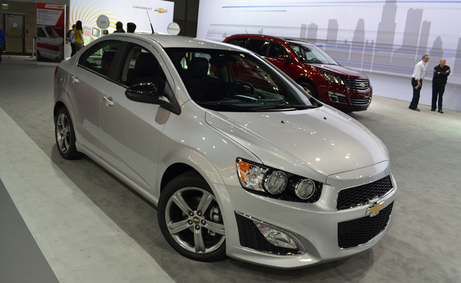2014 Chevrolet Sonic Rs Puts Excitement On A Budget